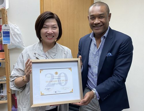 Congratulations to our Hong Kong Director for 20 wonderful years with TGL!